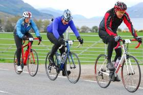 Nigel's back in the saddle fundraising for Scottish Autism